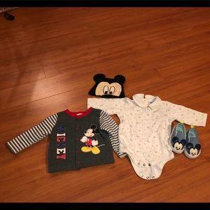 Auth Disney/Disney Baby Clothes EUC